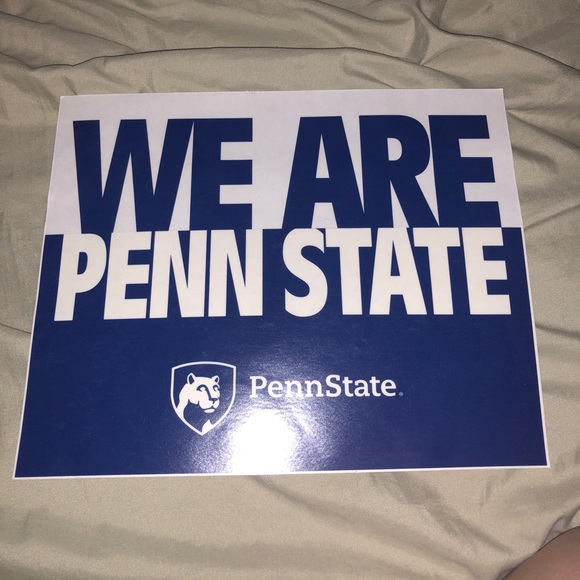 Penn State Car Decal